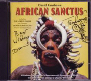 CD cover of African Sanctus
